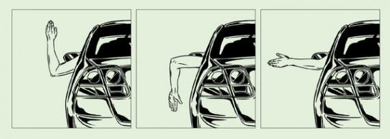 Automotive hand signals