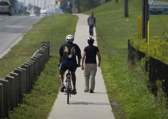 Jekyll And Hyde Approach To Cyclists On Sidewalks Versus