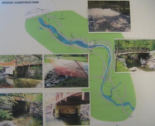 Wilket Creek river repair