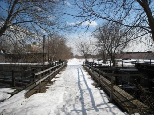 Rail Path over Bloor St.