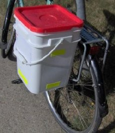 bucket pannier