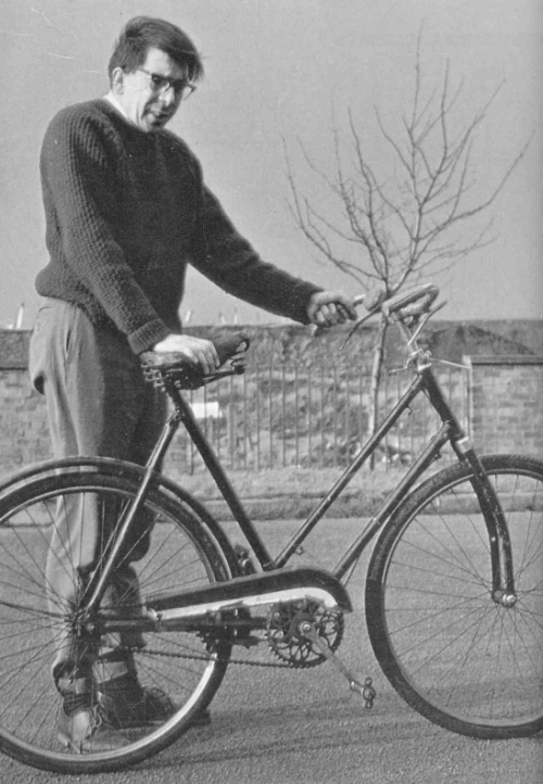 Jones' stable bike