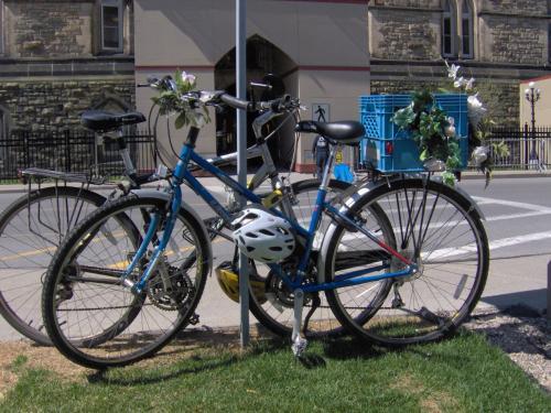 Olivia Chow's bike