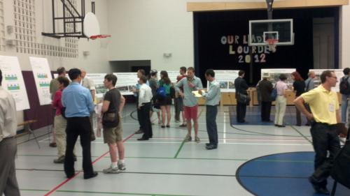 Attendees at the open house: Courtesy of Cycle Toronto