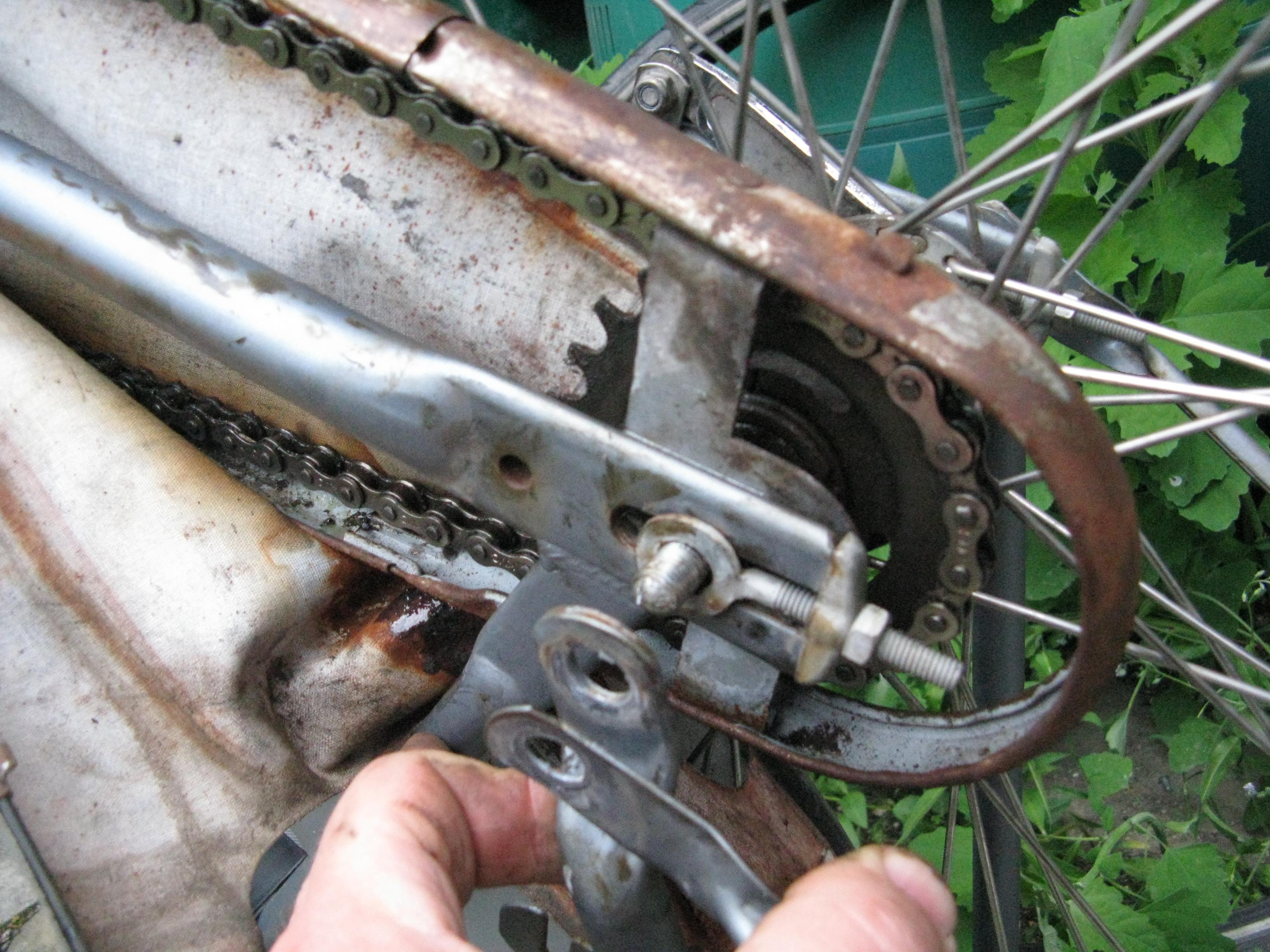 undo wheel axle