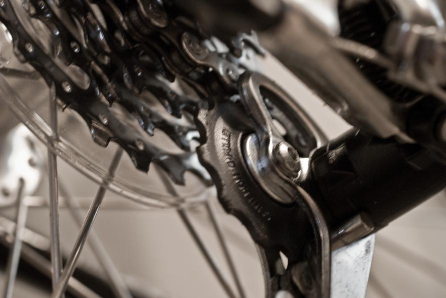 derailleur close-up